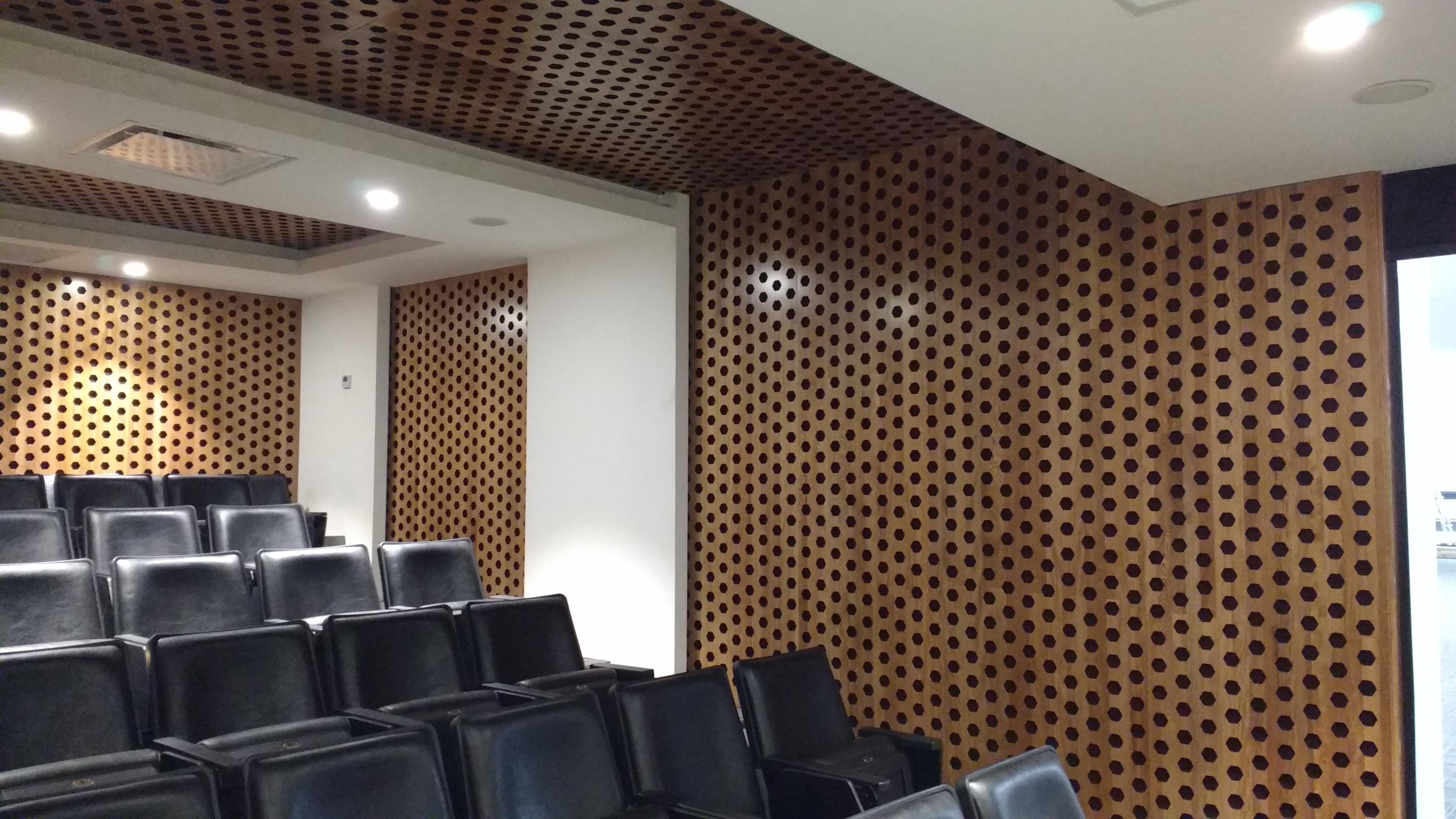 Panel ac stico rw tratamientos ac sticos guatemala - Techos acusticos decorativos ...
